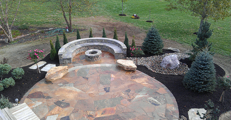Commercial Lawn Care In Kansas City Project With Landscaping