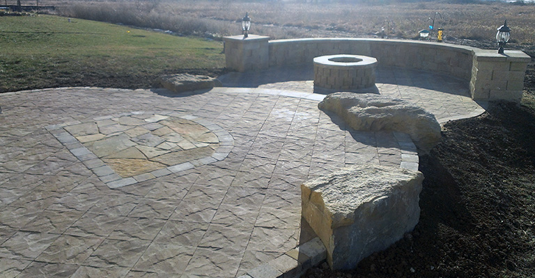 Kansas City Lawn Care And Landscaping Stone Project