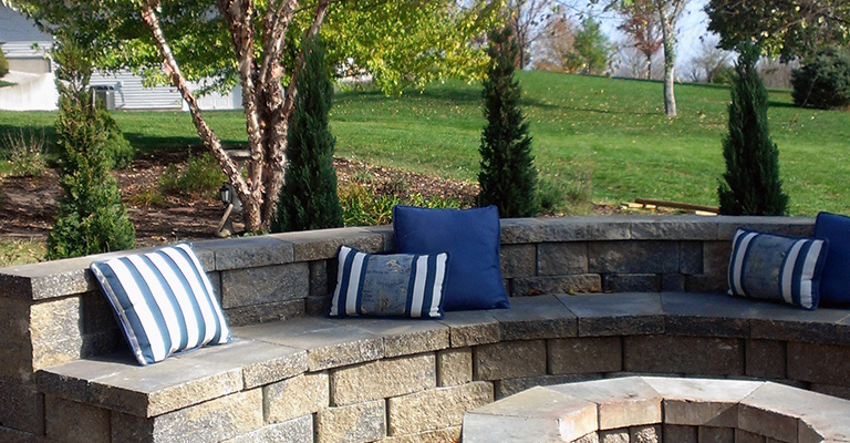 Lawn Care Kansas City Fireplace Seating