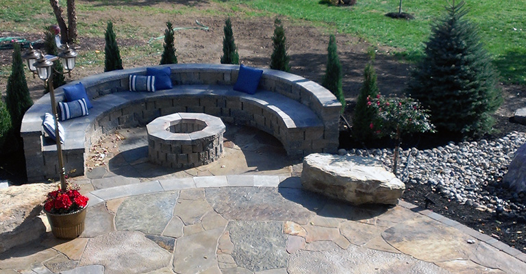 Lawn Care Kansas City Fireplace Project