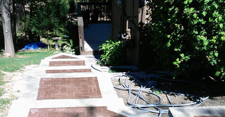 Lawn Care Kansas City Landscaping Steps